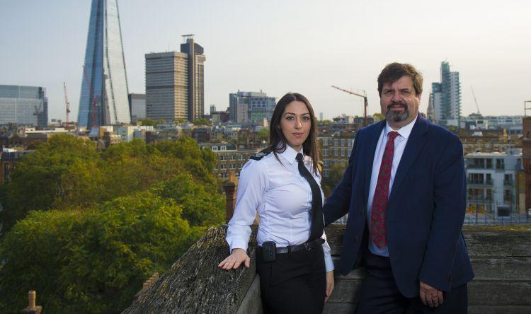 Sabrina Cohen-Hatton and Professor Jonathan Crego